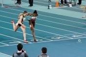 Katarzyna Flis i Urszula Bhebhe (2 i 3 miejsce 60m ppł K)