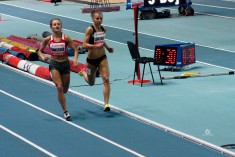 Aleksandra Gaworska i Joanna Linkiewicz (eliminacje 400m K)
